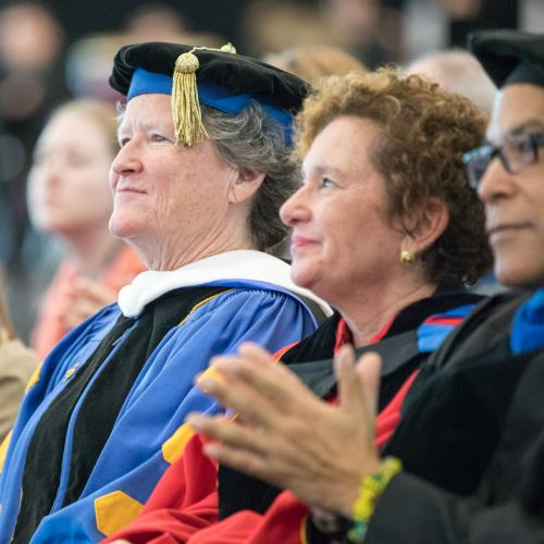 Peggy Ryan Williams, seventh president of Ithaca College.